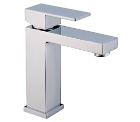 prato square basin mixer