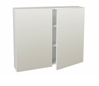 pencil edge mirror cabinets