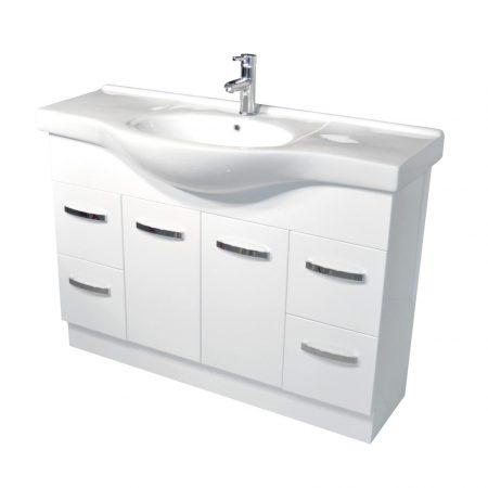 alexis 1200 semi-recessed vanity