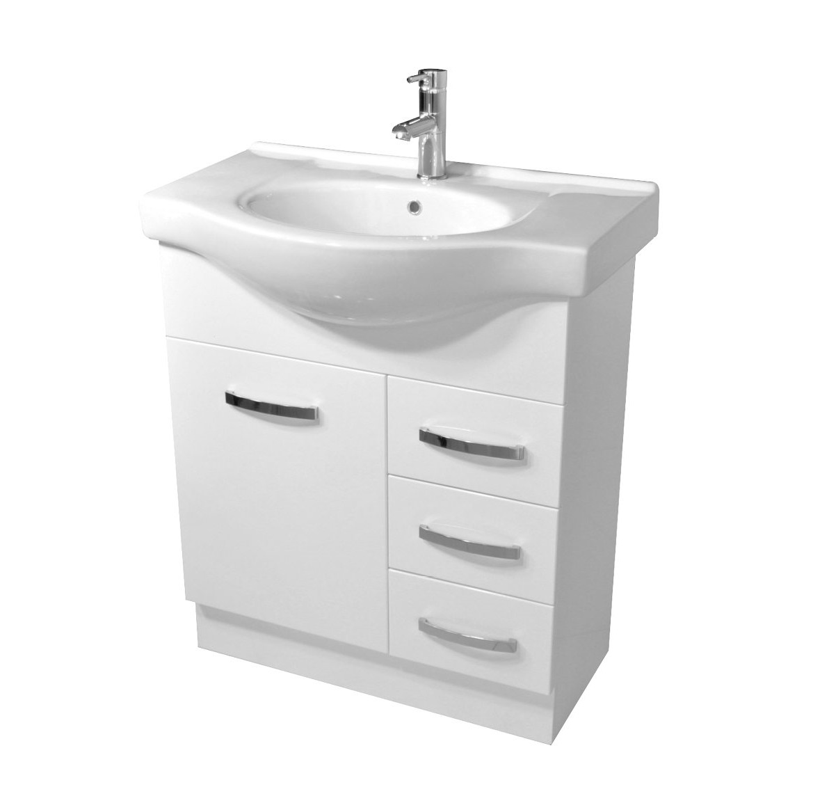 Alexis Semi-Recessed Vanity - 755x480x890mm | Builders Discount ...