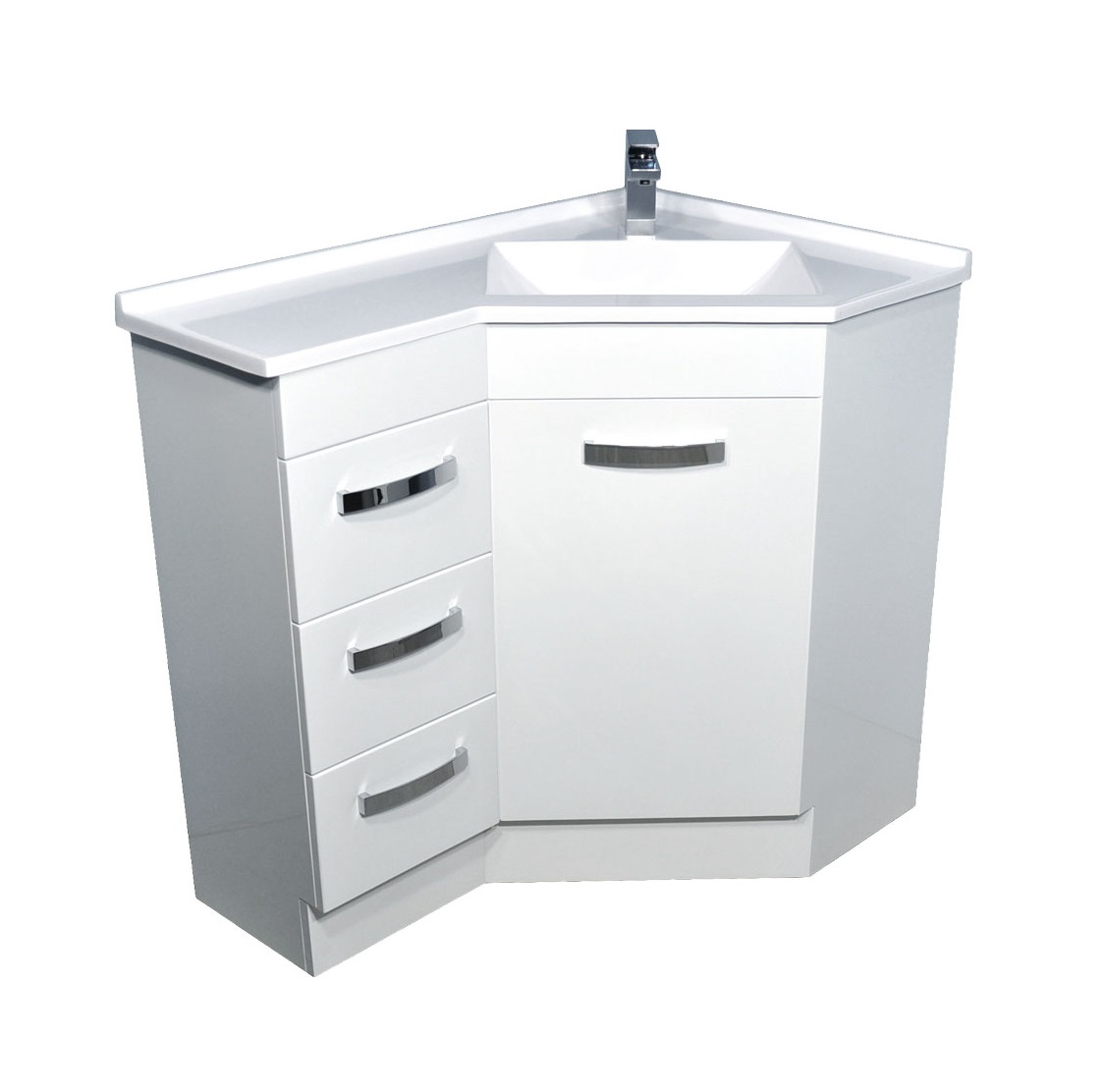 Corner vanities builders discount warehouse - Bathroom cabinets builders warehouse ...