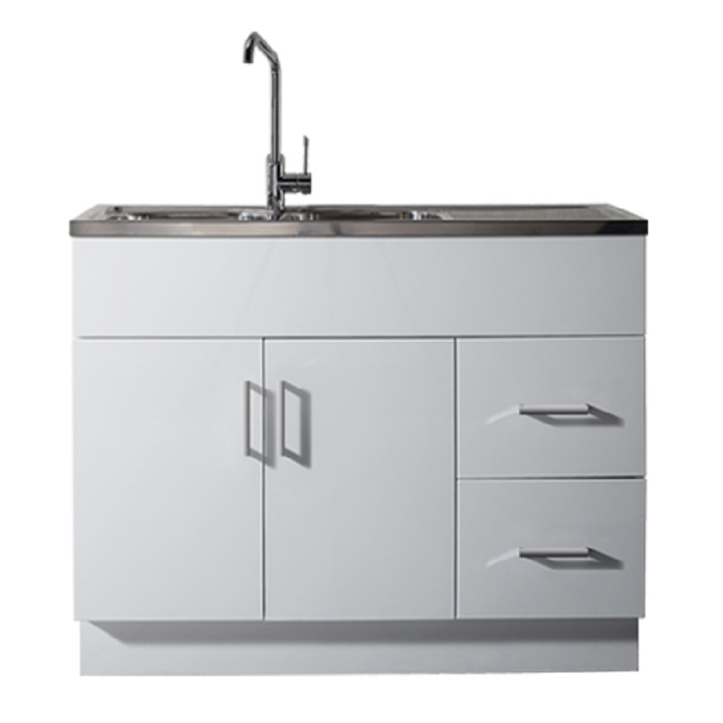 Kitchen Cupboards Builders Warehouse: 1200mm Sink & Cabinet - BACKORDER APRIL2018