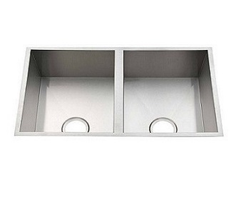 D76B Double Undermount Kitchen Sink