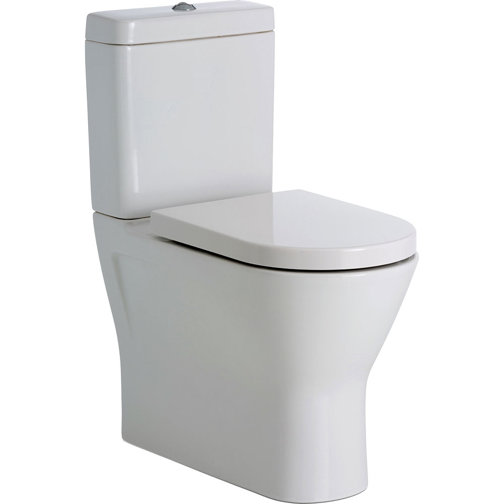 Resort Rimless Back To Wall Toilet - Extra Height | Builders ...