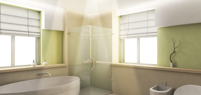 small-bathroom-design-ideas-with-freestanding-bathtub-and-shower-room-under-bathroom-heat-lamp
