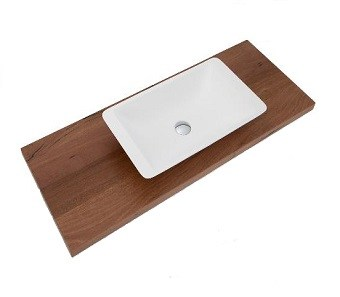 sealed timber vanity tops