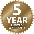 ICON_5YearWarrantyLimited