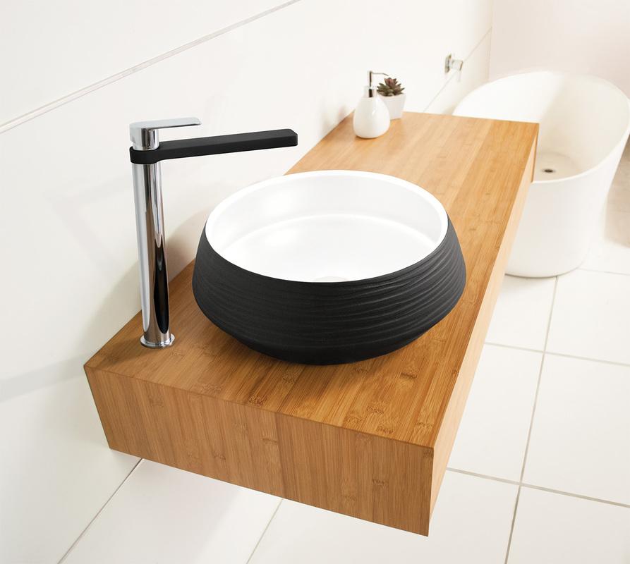 Maxwell Bamboo Floating Vanities 4848mm 48mm Depth Unique Bamboo Vanity Bathroom