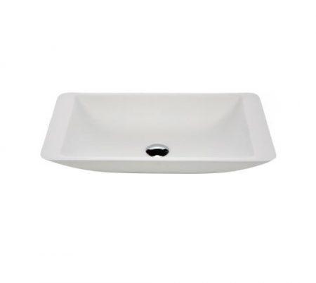 tessa 600 white stone basin