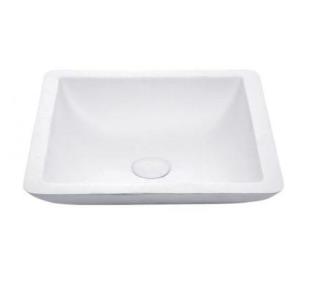 tessa 420 white stone basin