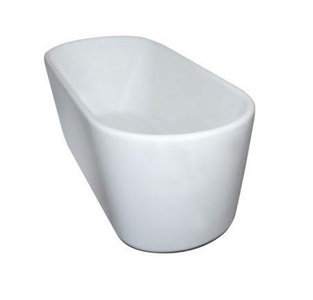 ovalo compact freestanding bath