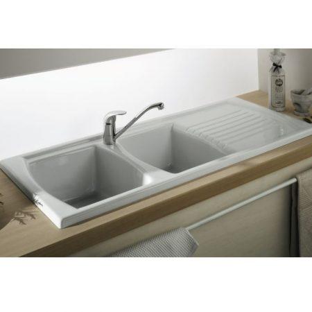 lusitano fine fireclay kitchen sink