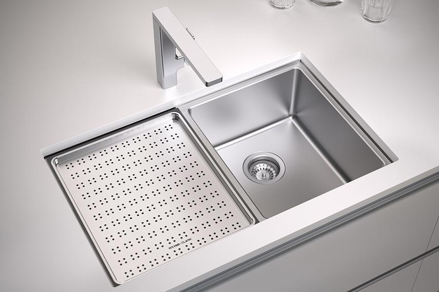 Pete Evans Double Bowl Sink inc. Accessories (770x460mm ...