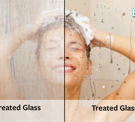 enduroshield-treated-untreated-shower-with-enduroshield-logo