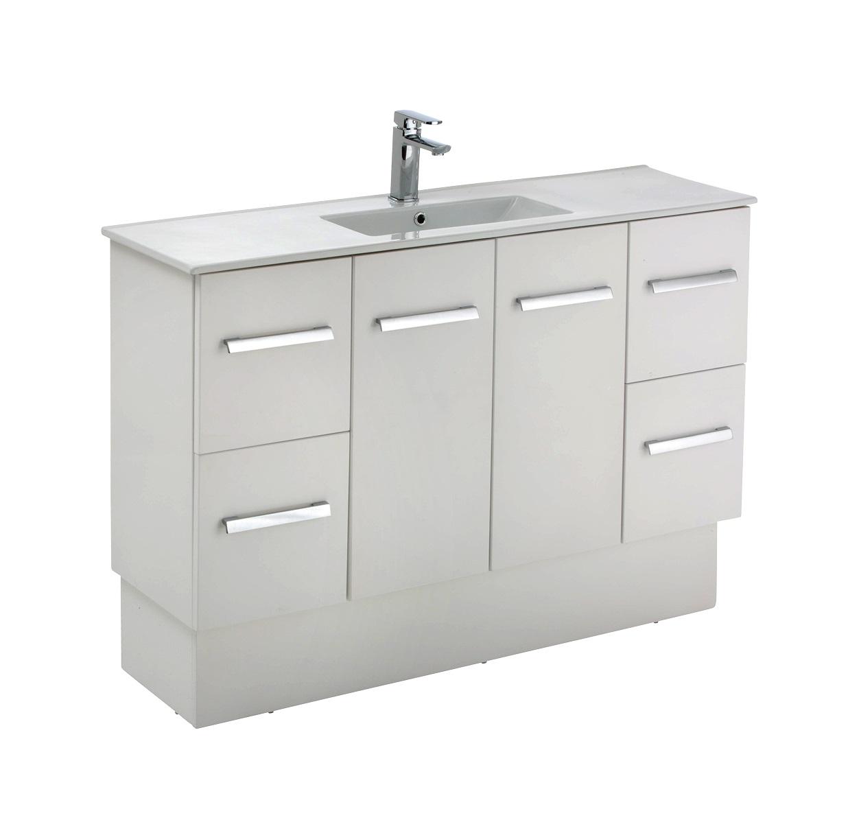 Delgado Vanity - 1200x365x650/850mm | Builders Discount Warehouse