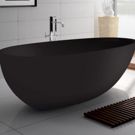 Freestanding stone baths builders discount warehouse for Discount bathtubs for sale