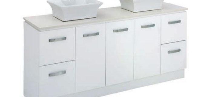 1800mm vanities builders discount warehouse for Bathroom cabinets 1800mm