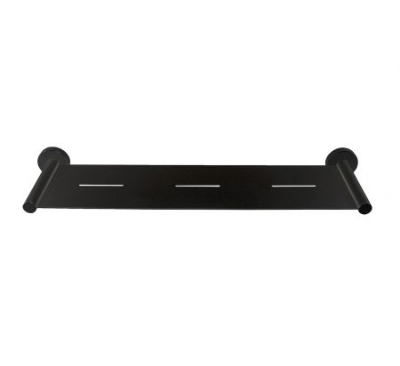 emma black shower shelf