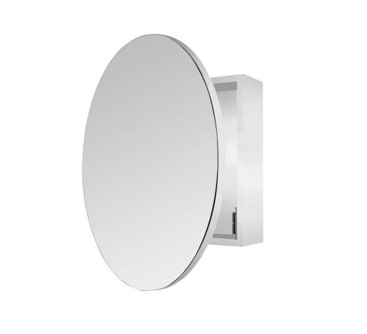 Round Mirror Cabinet - 600mm