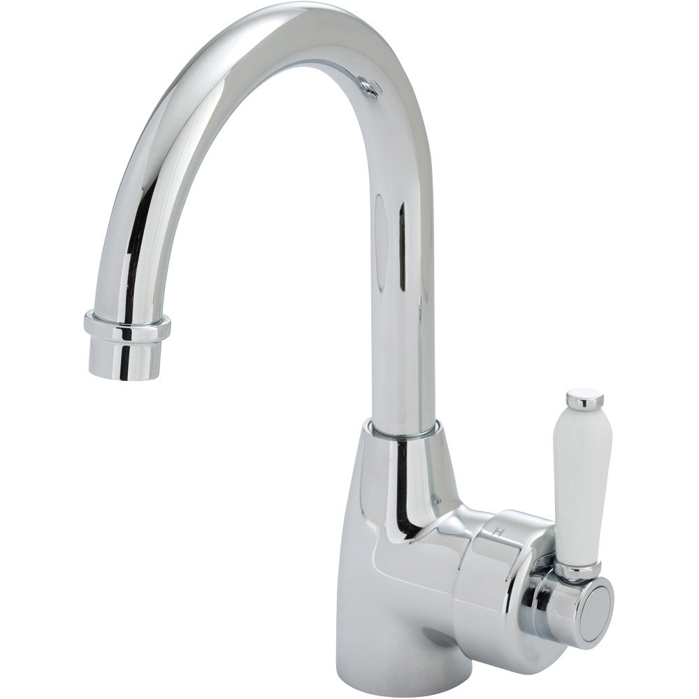 Eleanor Gooseneck Basin Mixer Builders Discount Warehouse