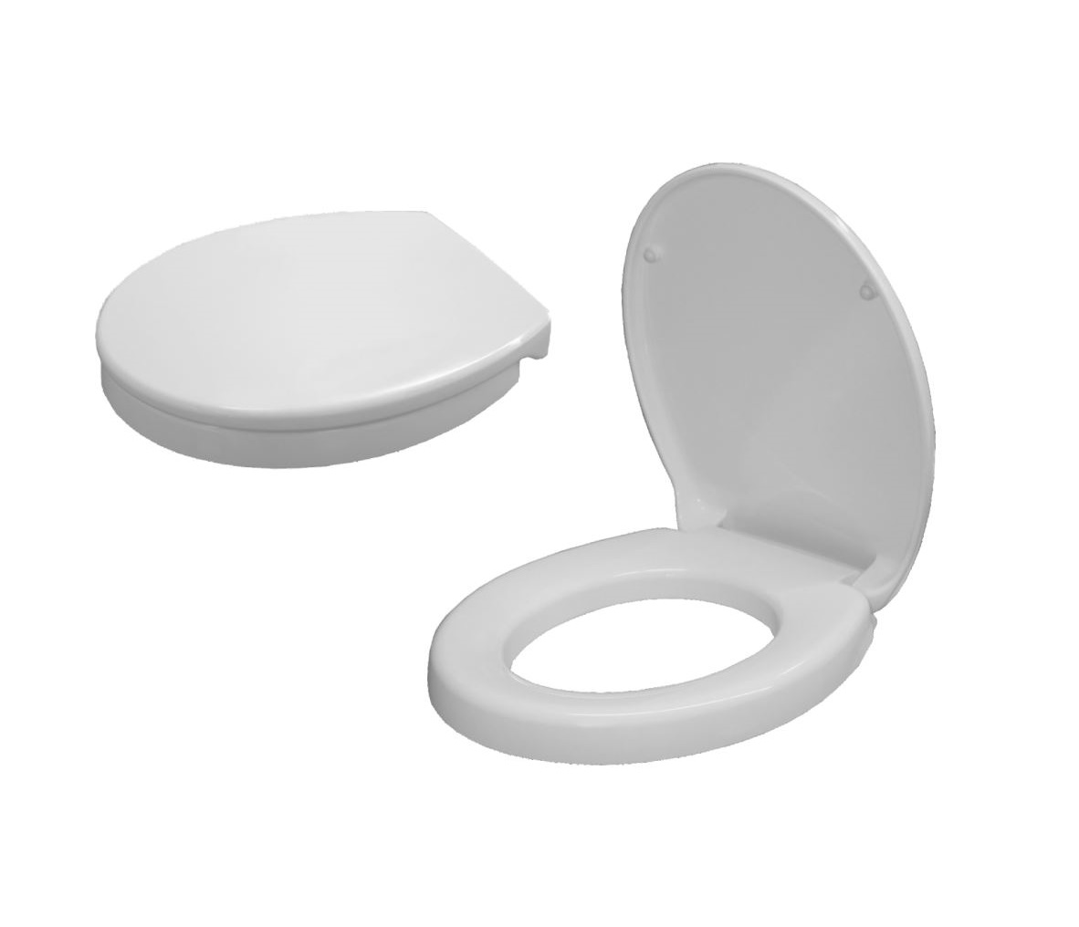 Excellent Extra Height Toilet Seat Adds 50Mm 425X371Mm Adjustable Hinges 145 165Mm Gmtry Best Dining Table And Chair Ideas Images Gmtryco